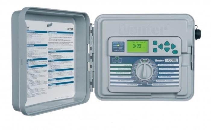 Hunter IC-601PL контроллер полива на 6 зон, с возможностью расширения до 30 зон (наружный)